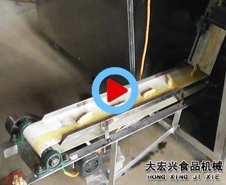新型变频旋缸静压麻花机现场操作视频